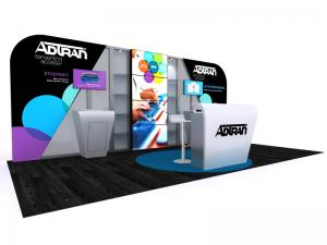 DM-1048 Trade Show Exhibit -- 10 x 20 Version